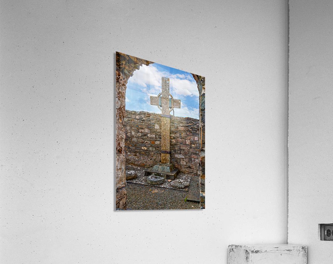Colmcilles Cross  Acrylic Print