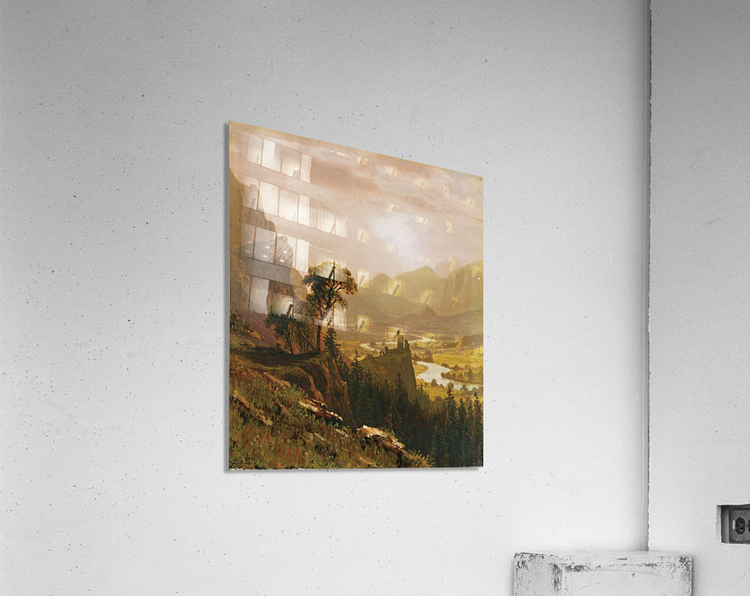 Sunset in the Mountains, 1859  Acrylic Print