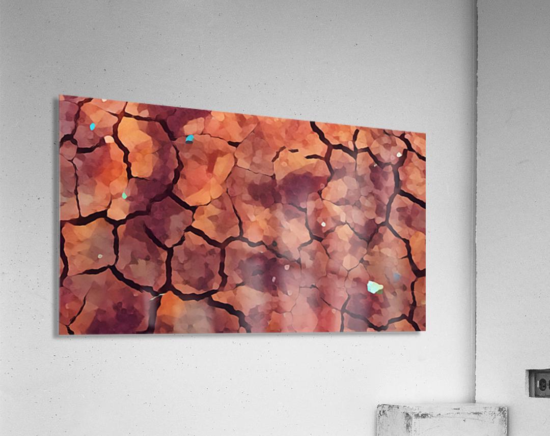 rocks art two  Acrylic Print