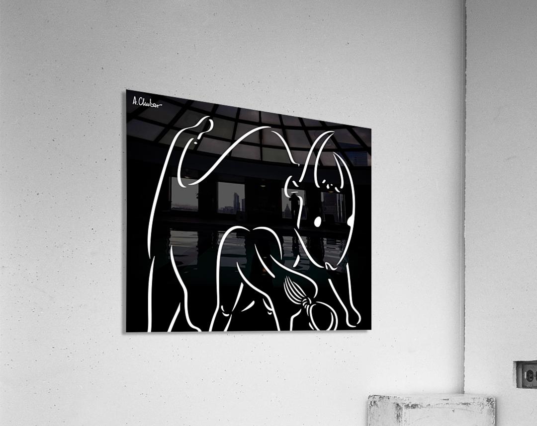 Pasiphae and the Bull  Acrylic Print