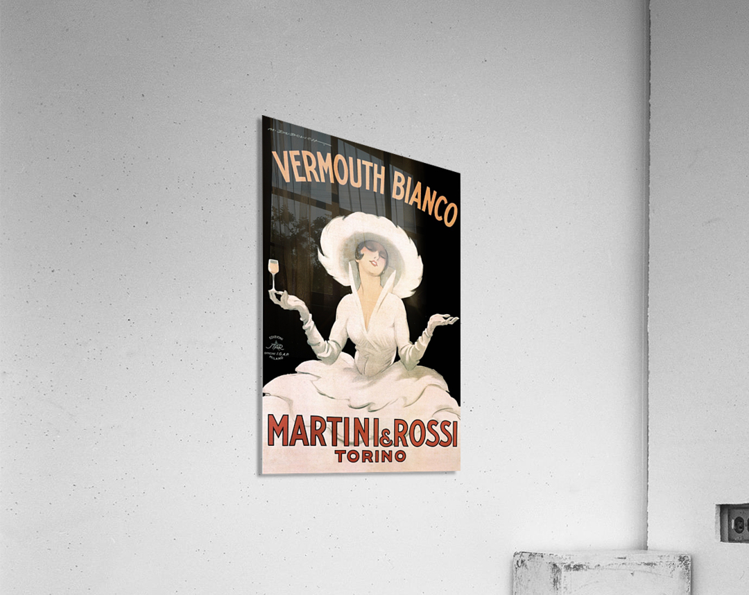 Leonetto Cappiello Cognac Monnet Vintage Ad Art Print Poster  Acrylic Print