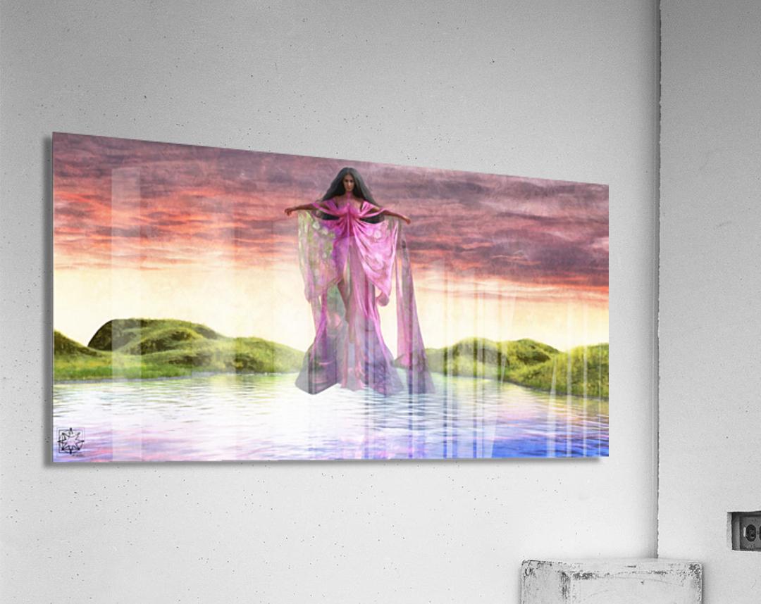 Coming Down  Acrylic Print