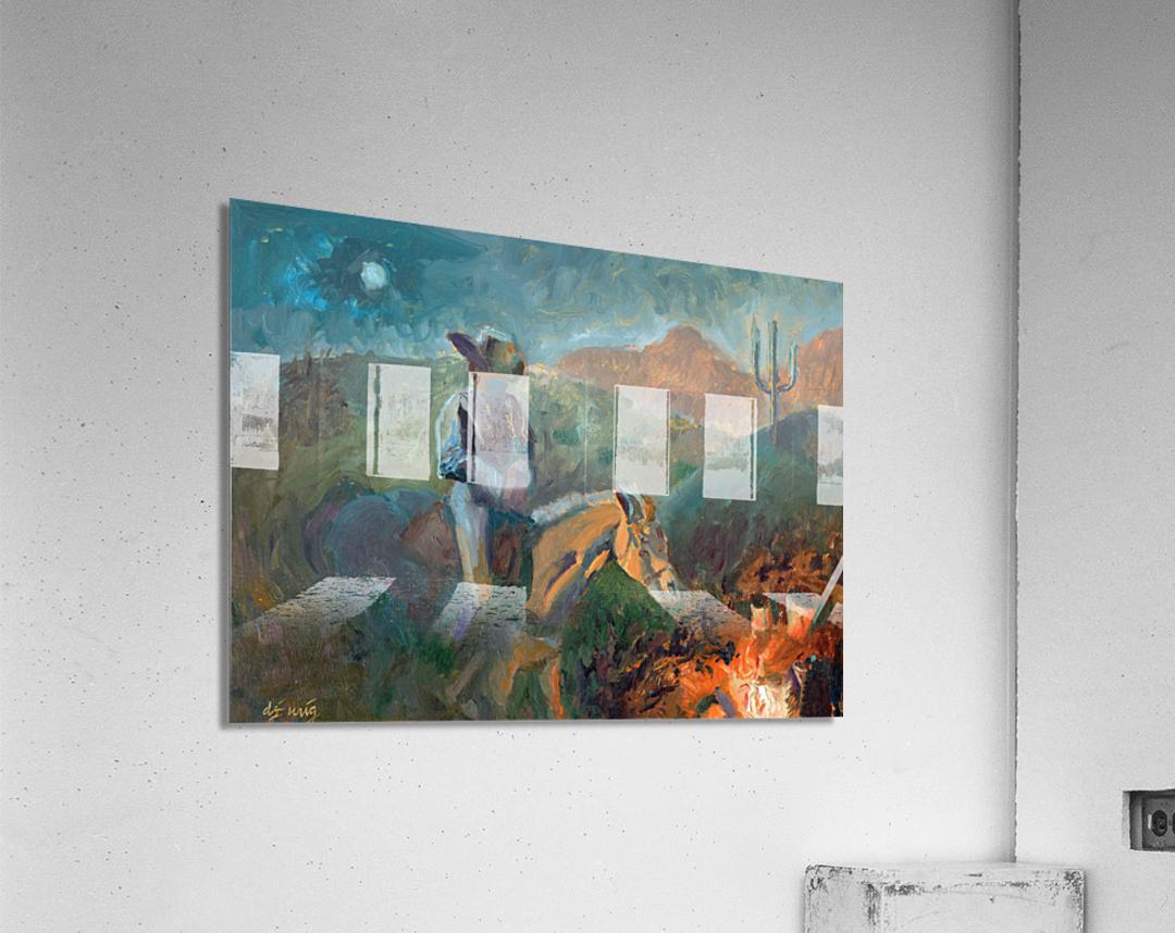 A Cowboys Trusted Friend  Acrylic Print