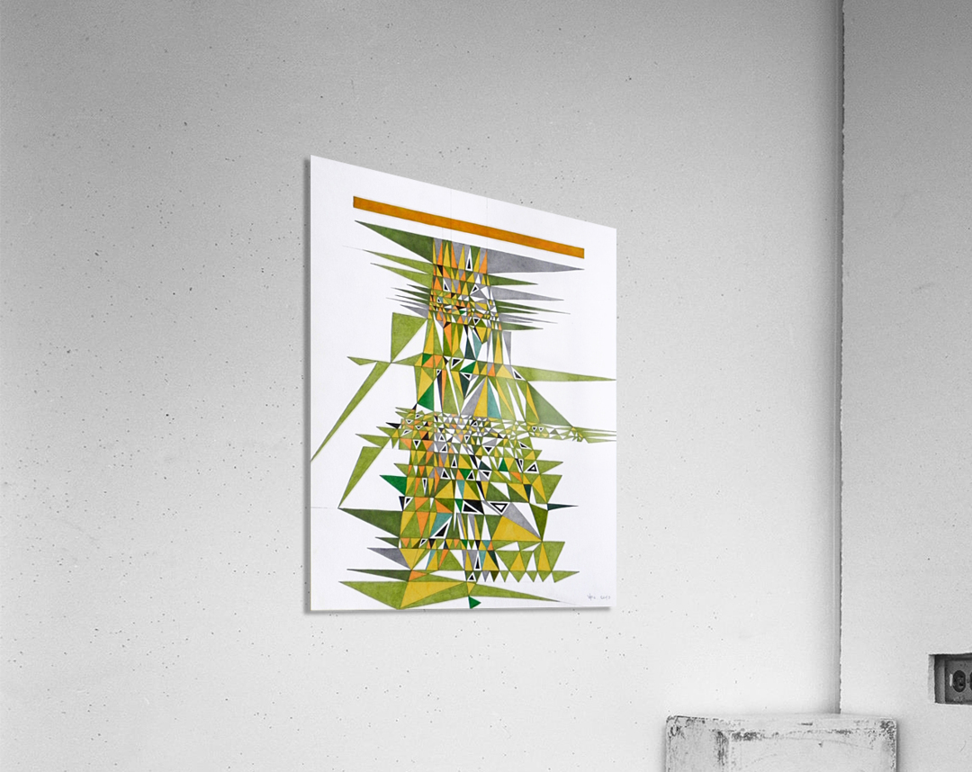 tetris number 4  Acrylic Print
