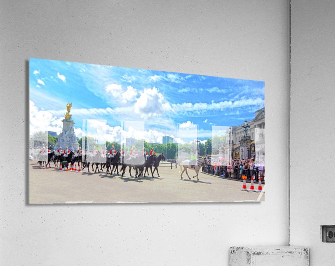 Changing of the Guard London United Kingdom  Acrylic Print
