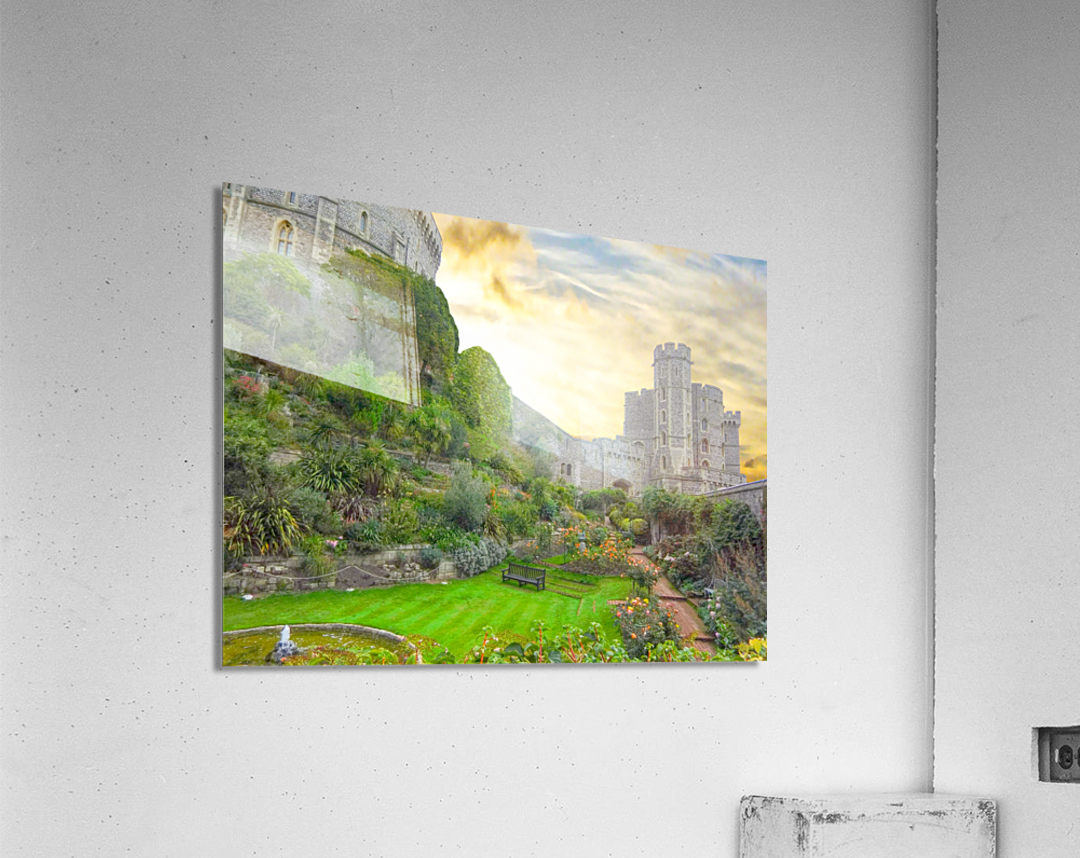 Windsor Castle at Sunset  Acrylic Print