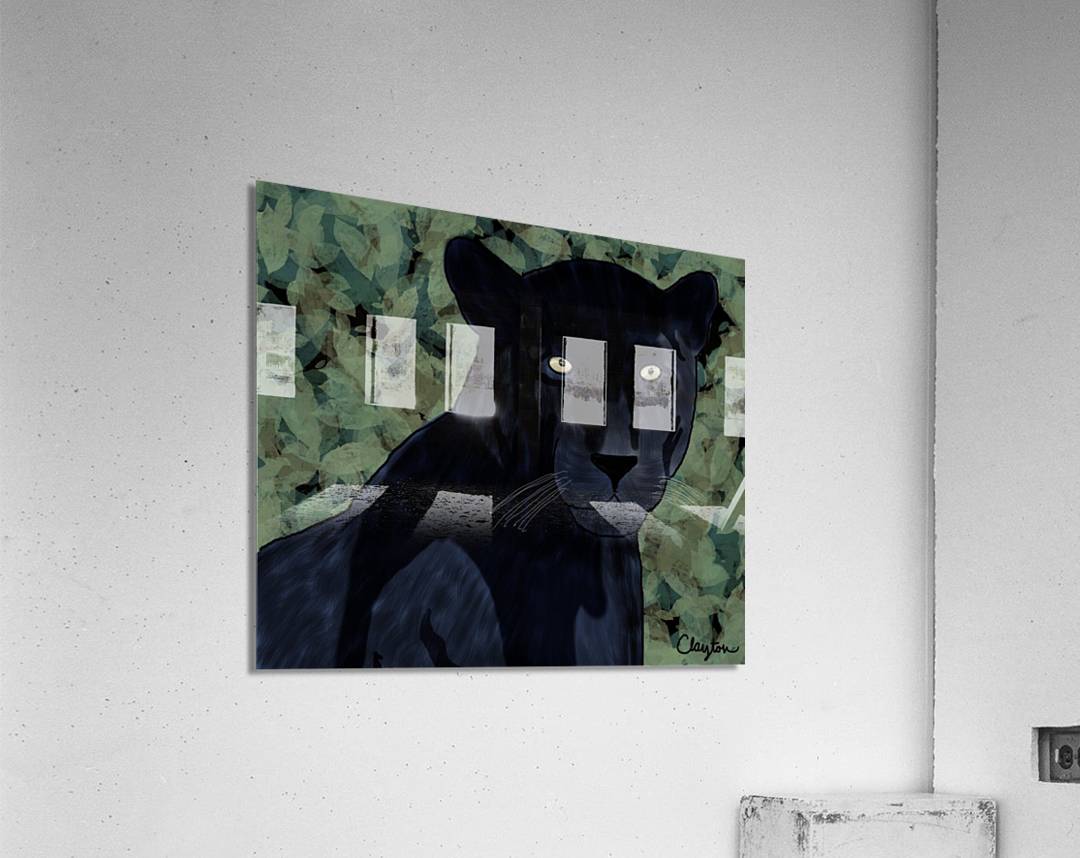 Black Jaguar. Clayton T  Acrylic Print