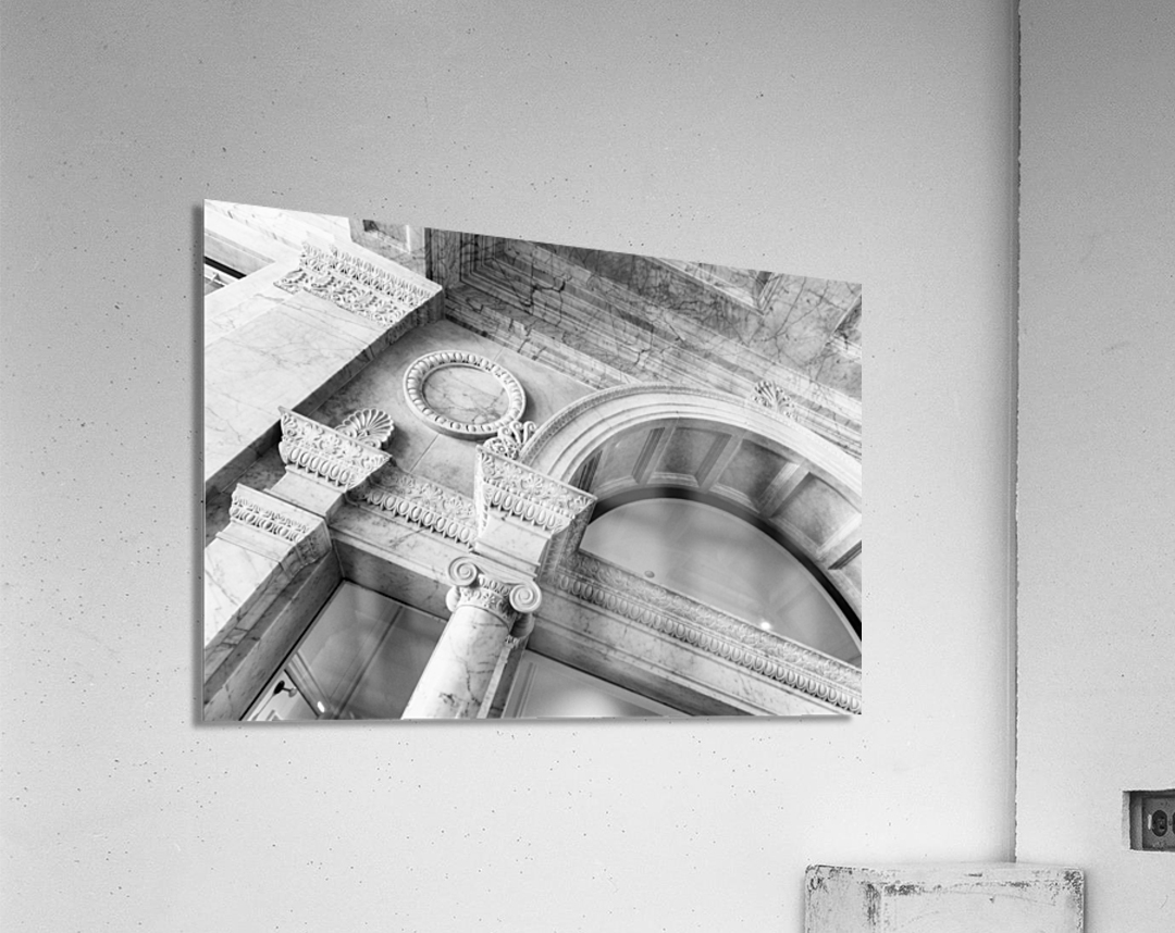 Decorating the City  Acrylic Print