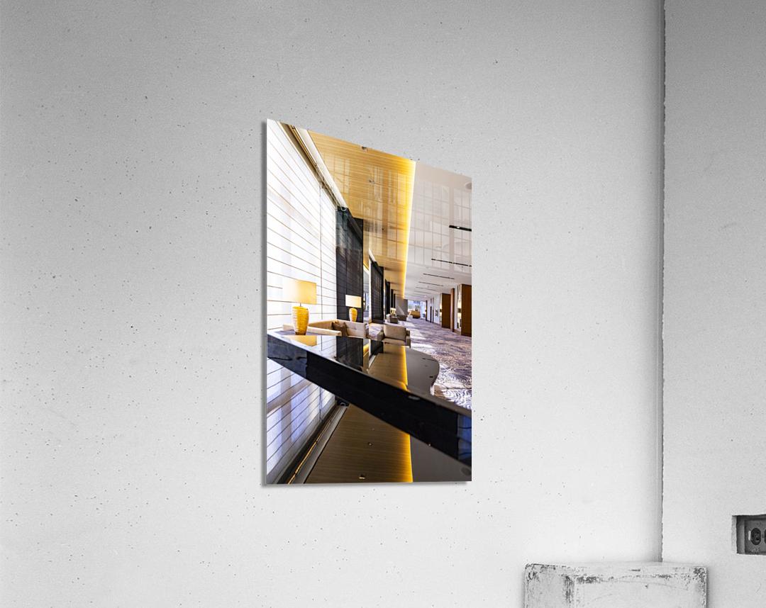 Hotel Hallways  Acrylic Print