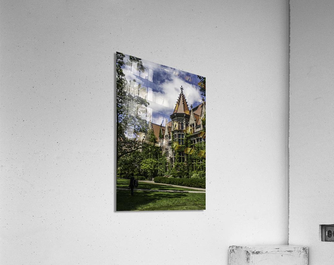 College Green  Acrylic Print