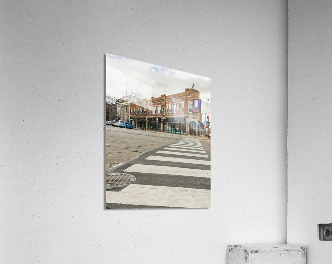 Strolling Down the Street  Acrylic Print
