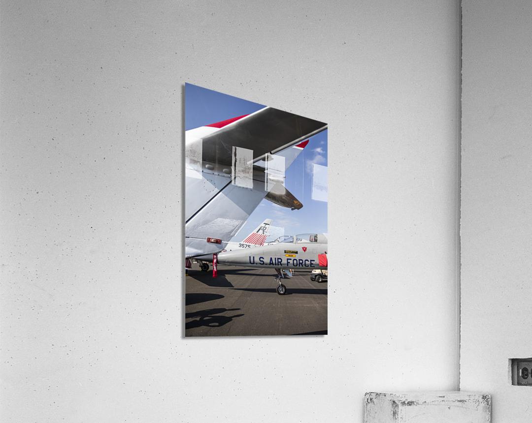 A Line of Planes  Acrylic Print