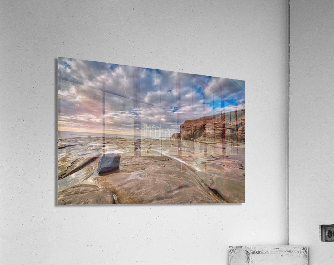 Low Tide in Petit Etang  Acrylic Print