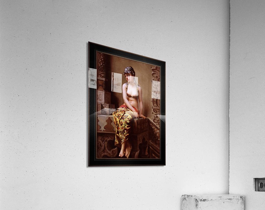 Enchantress by Luis Ricardo Falero Classical Art Xzendor7 Old Masters Reproductions  Acrylic Print