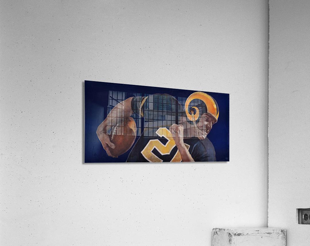1959 LA Rams Vintage Football Art  Acrylic Print