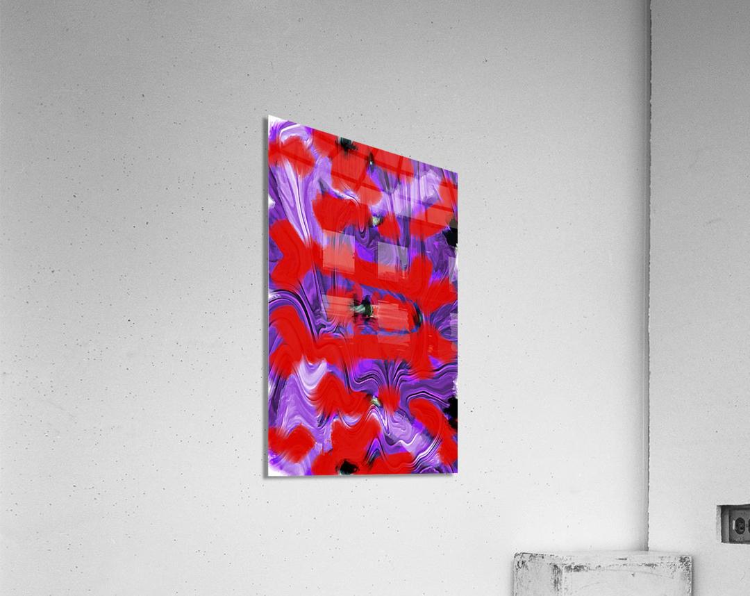 Purple Explorer  Acrylic Print