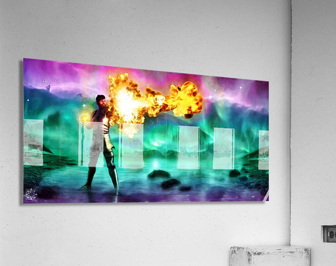 Battlemage  Acrylic Print