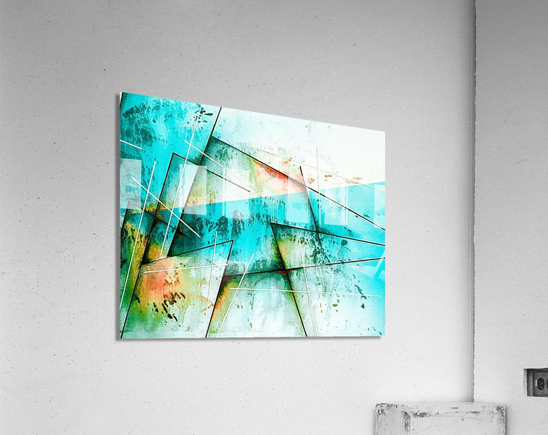 ABSTRACT ART BRITTO QB300B  Acrylic Print
