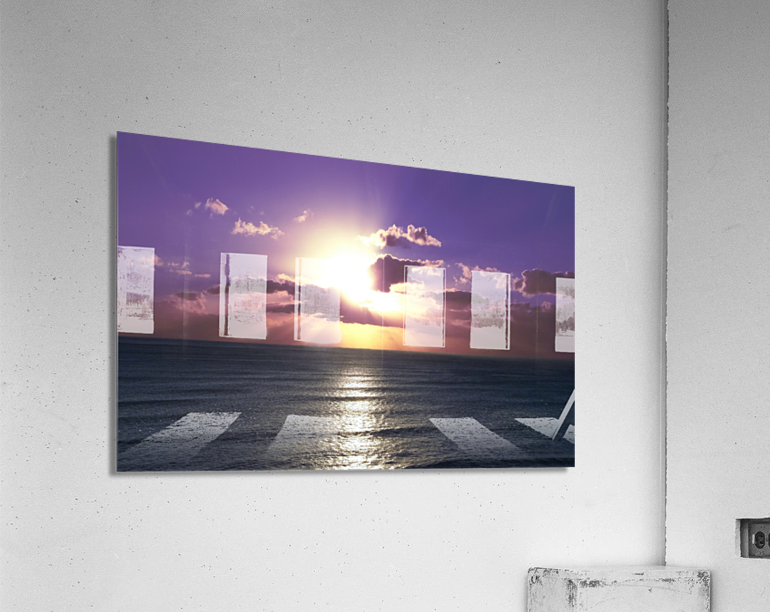Tranquility - Relaxing Sunset over the Pacific  Acrylic Print