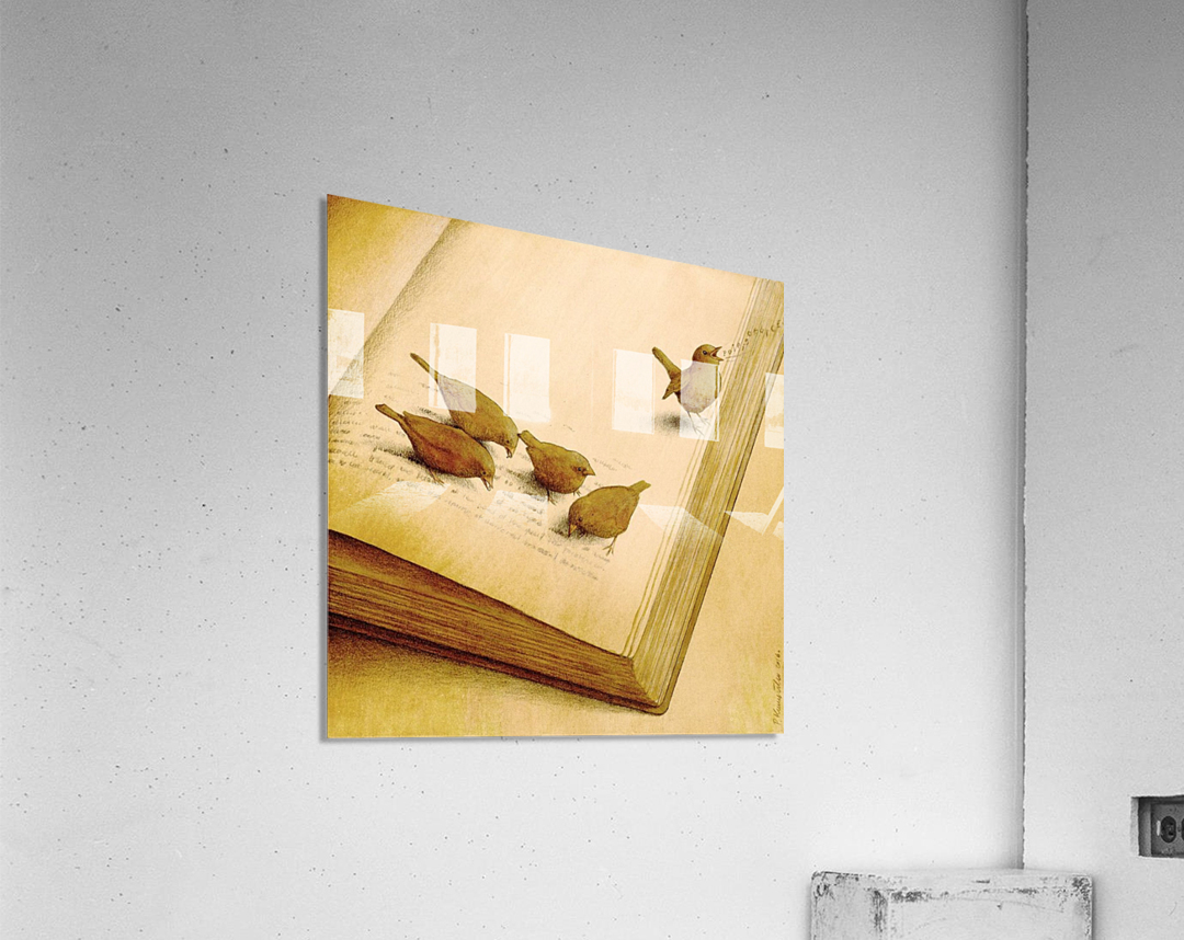 audiobook  Acrylic Print