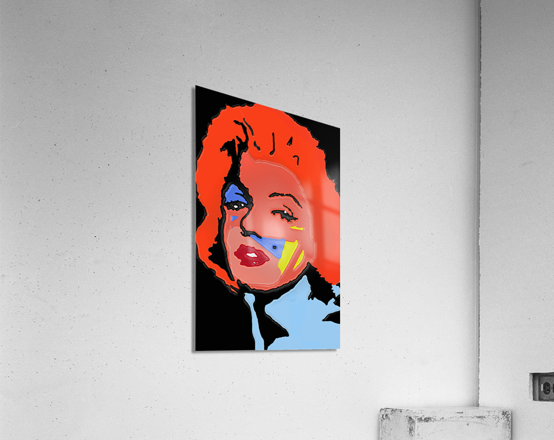 Marilyn in full color  Acrylic Print