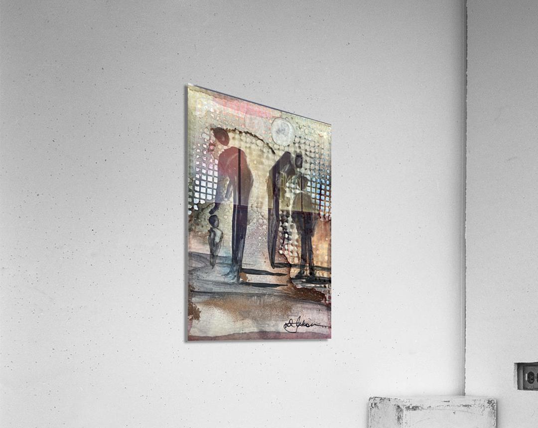 My People 1  Acrylic Print