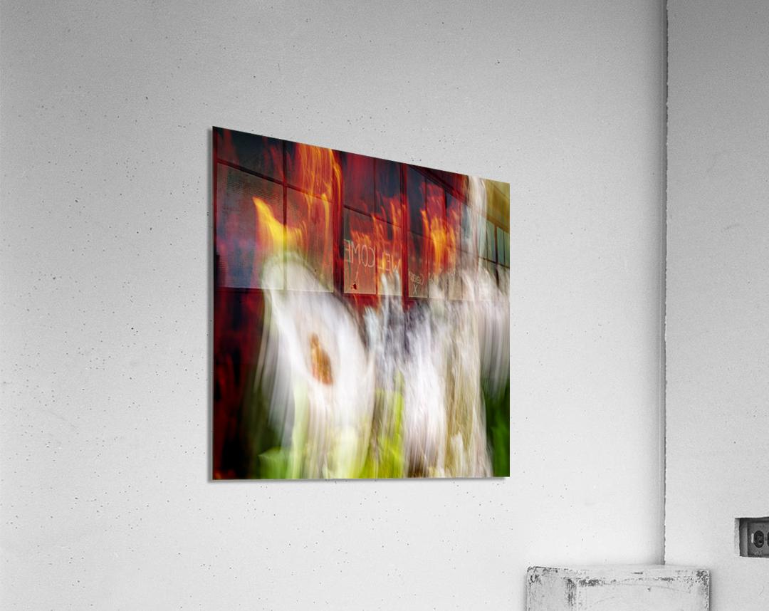 walk down Limited Edition of 5  Acrylic Print