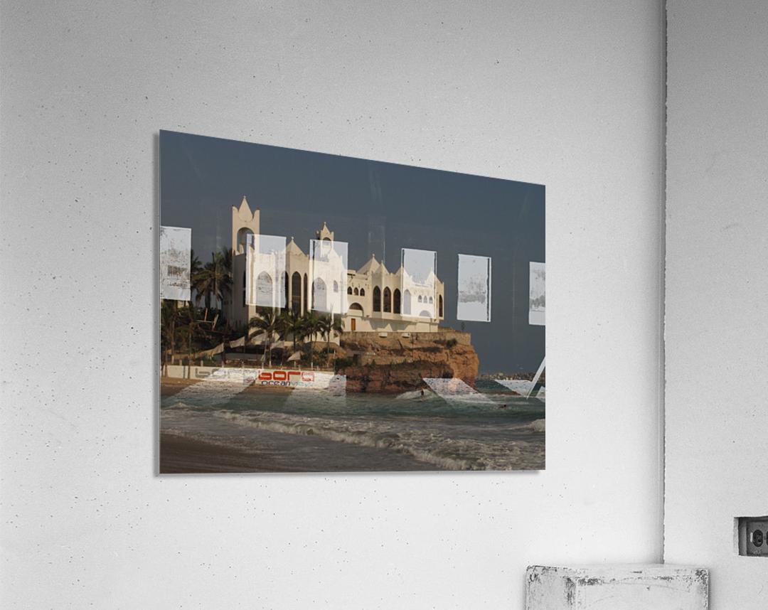 White Castle  Acrylic Print