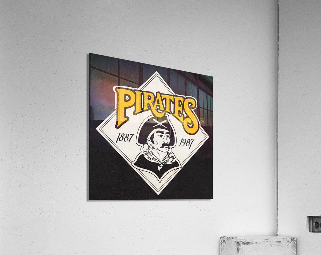 1988 Pittsburgh Pirates Retro Art  Acrylic Print