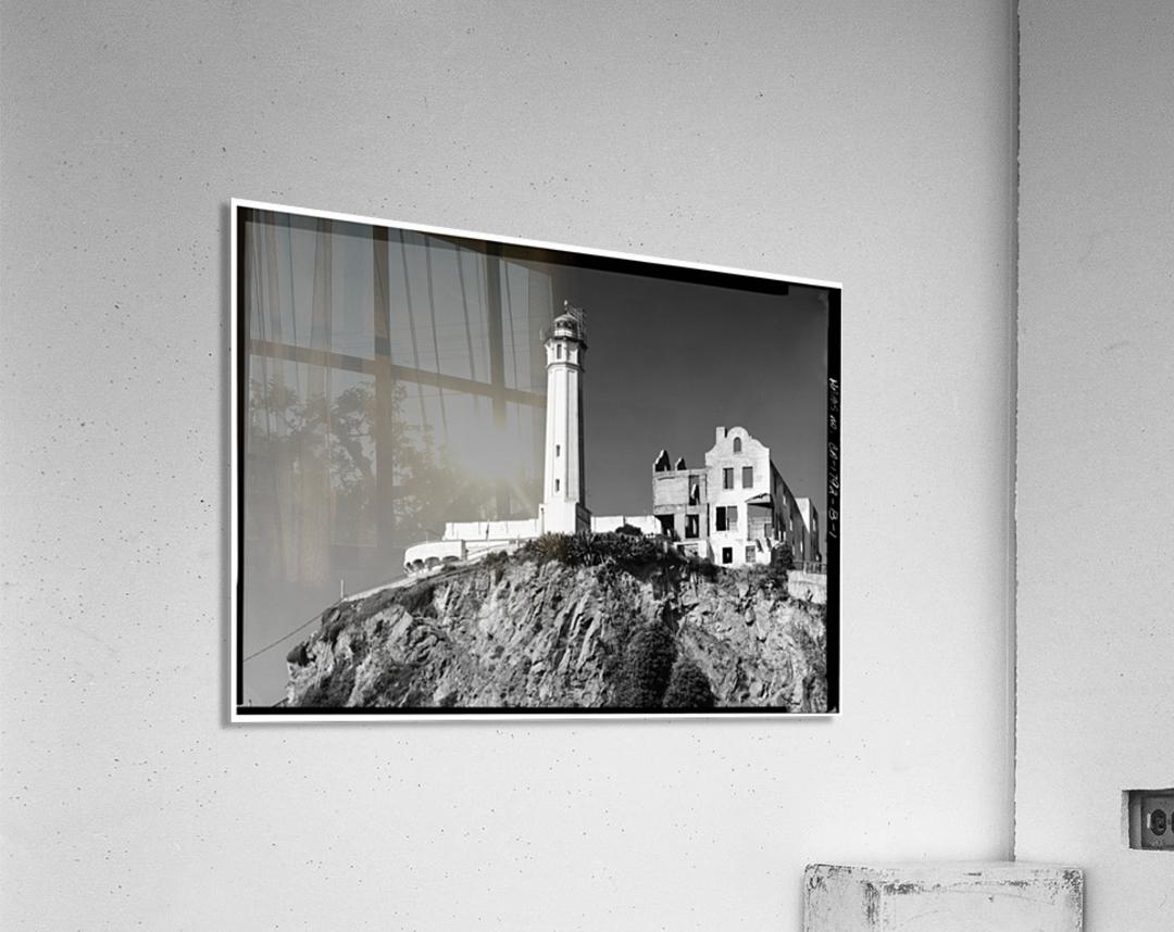 Alcatraz Lighthouse, California  Acrylic Print
