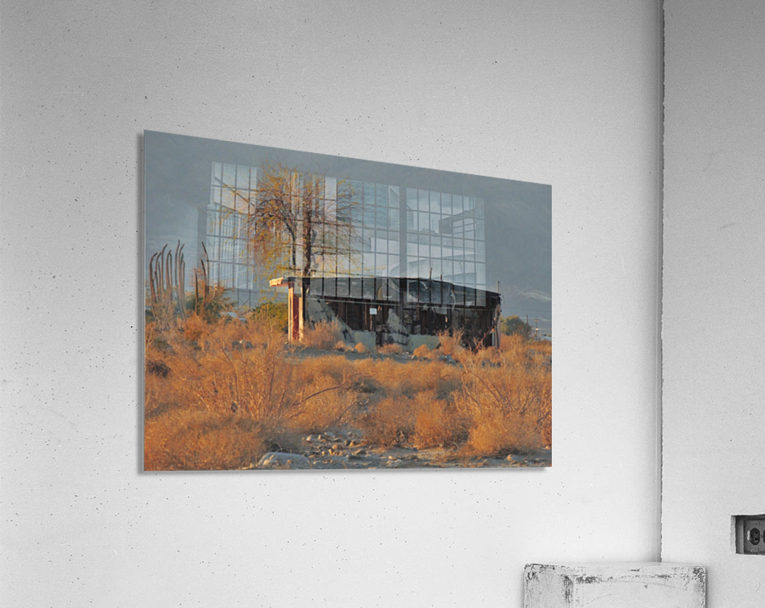 Abandoned in the Desert  Acrylic Print