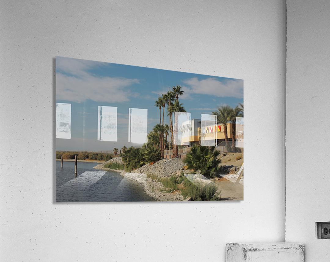 North Shore Beach & Yacht Club  Acrylic Print