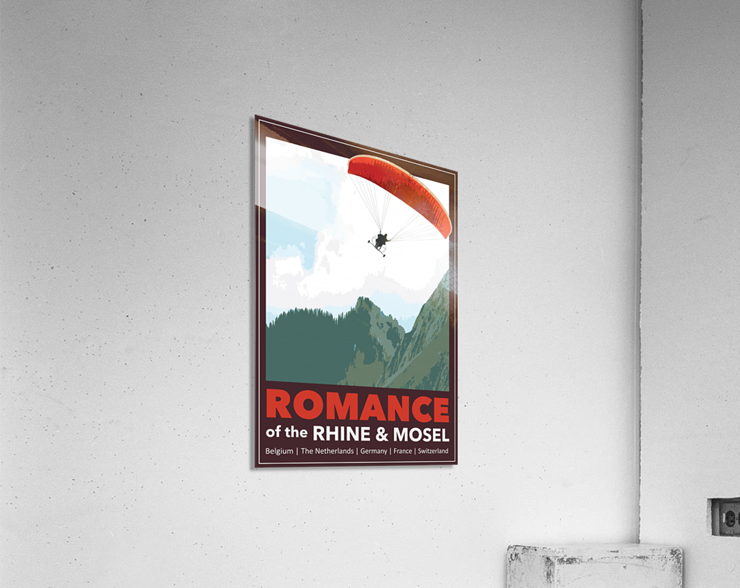 Lydon, Romance of the Rhine and Mosel poster  Acrylic Print