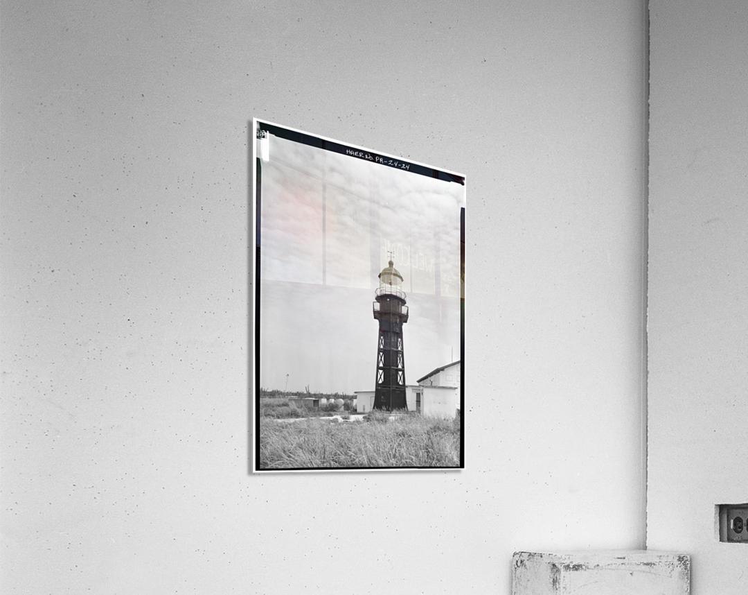 Isla-de-Mona-Light-Puerto-Rico  Acrylic Print