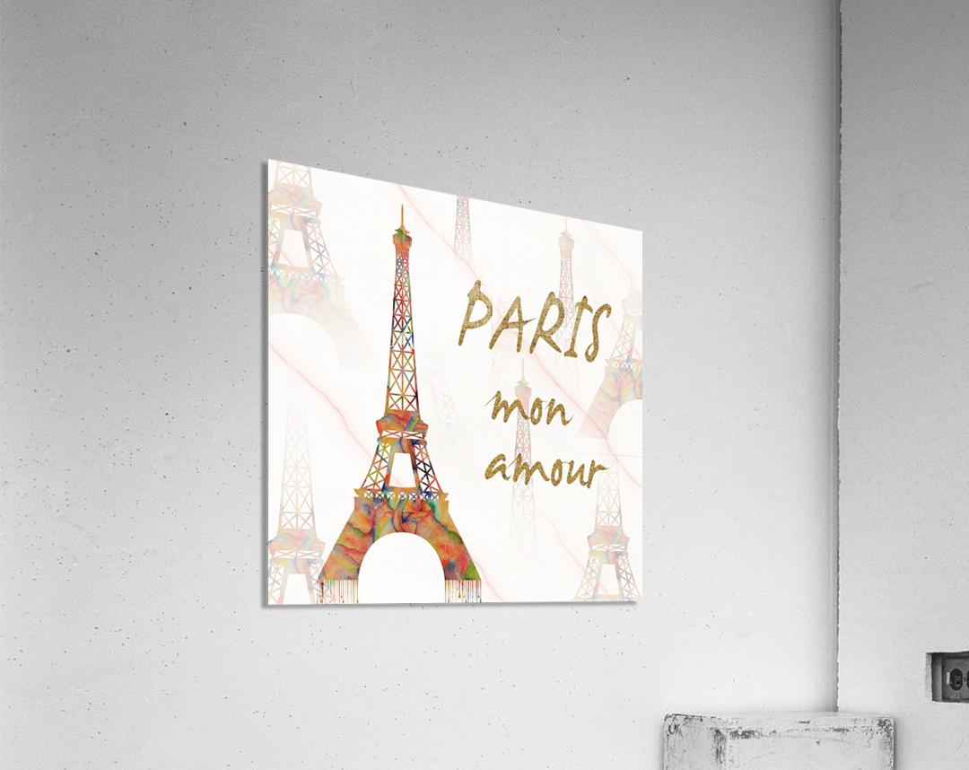 Paris mon amour  Acrylic Print