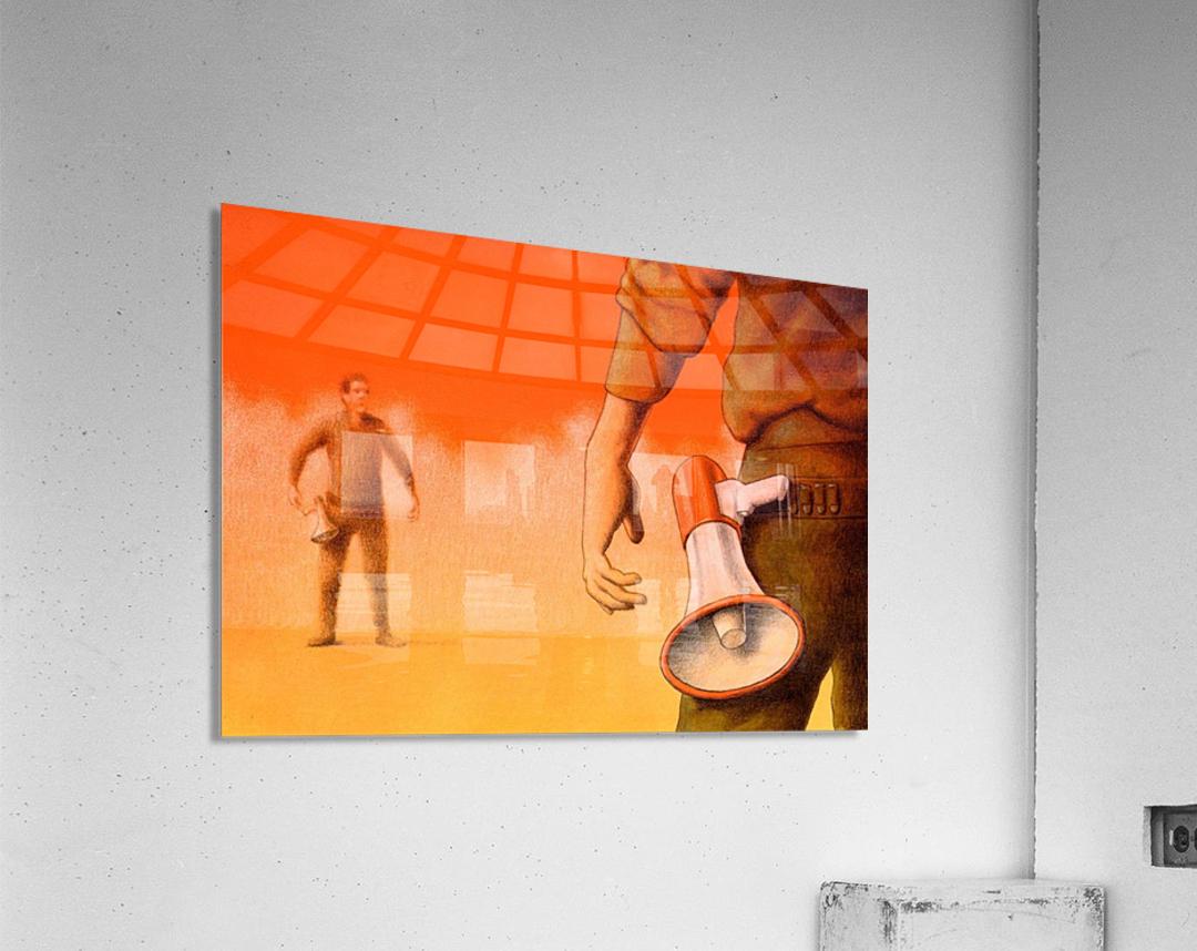 Duel  Acrylic Print