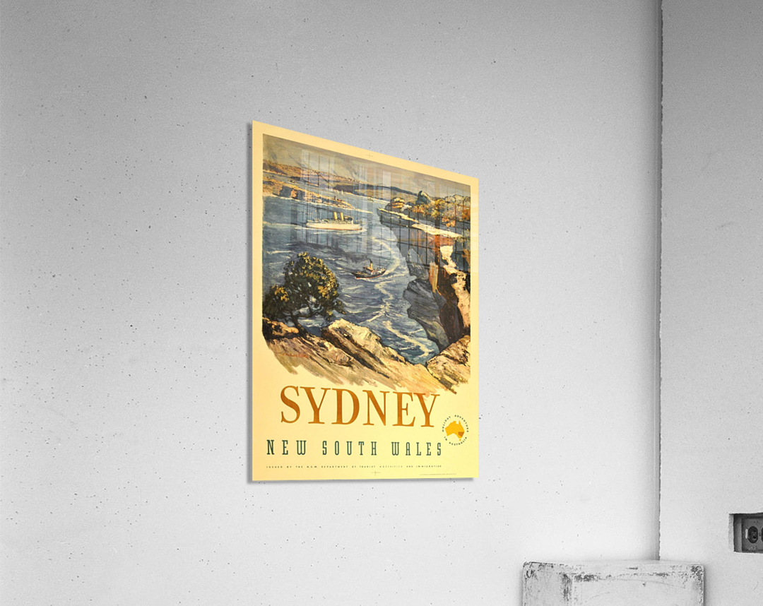 Sydney New South Wales  Acrylic Print
