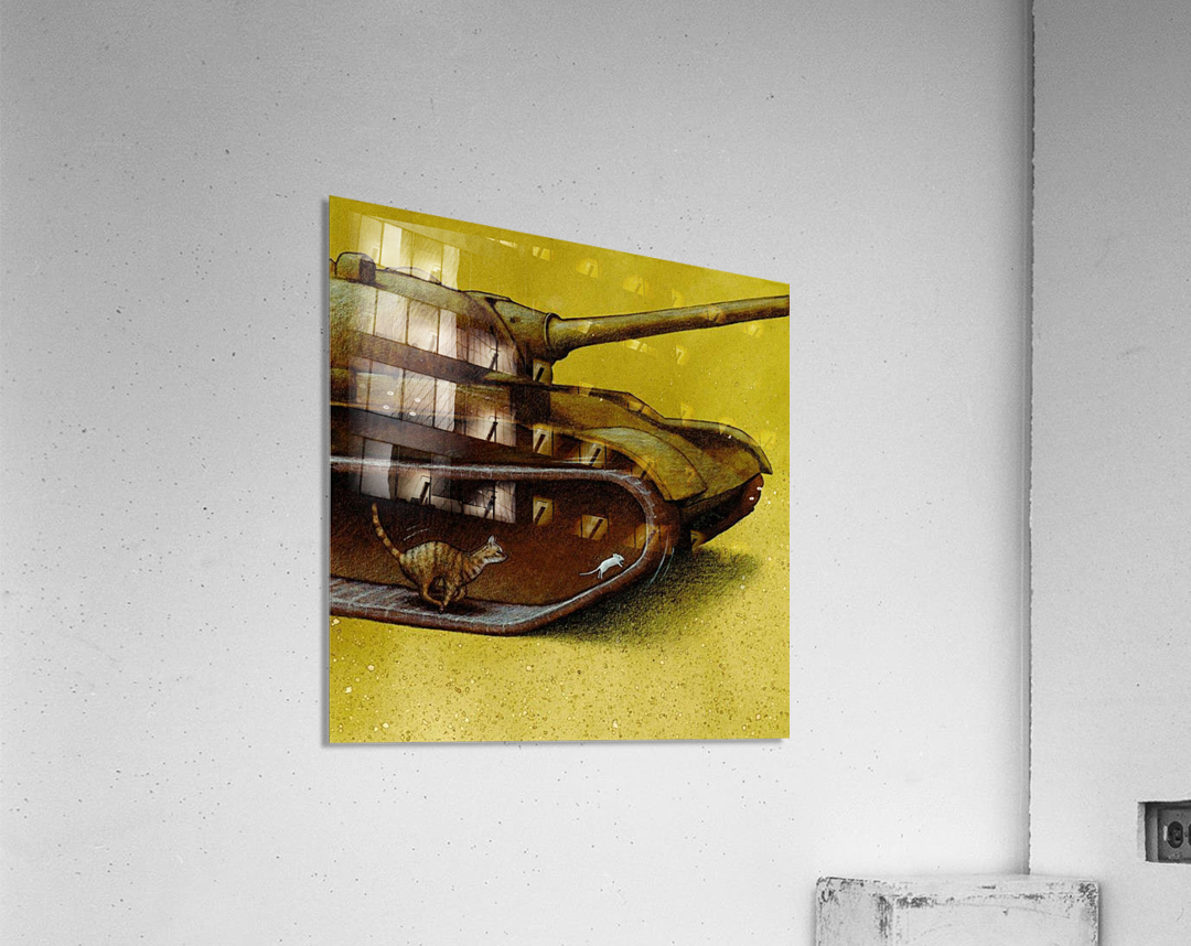 driving gear  Acrylic Print