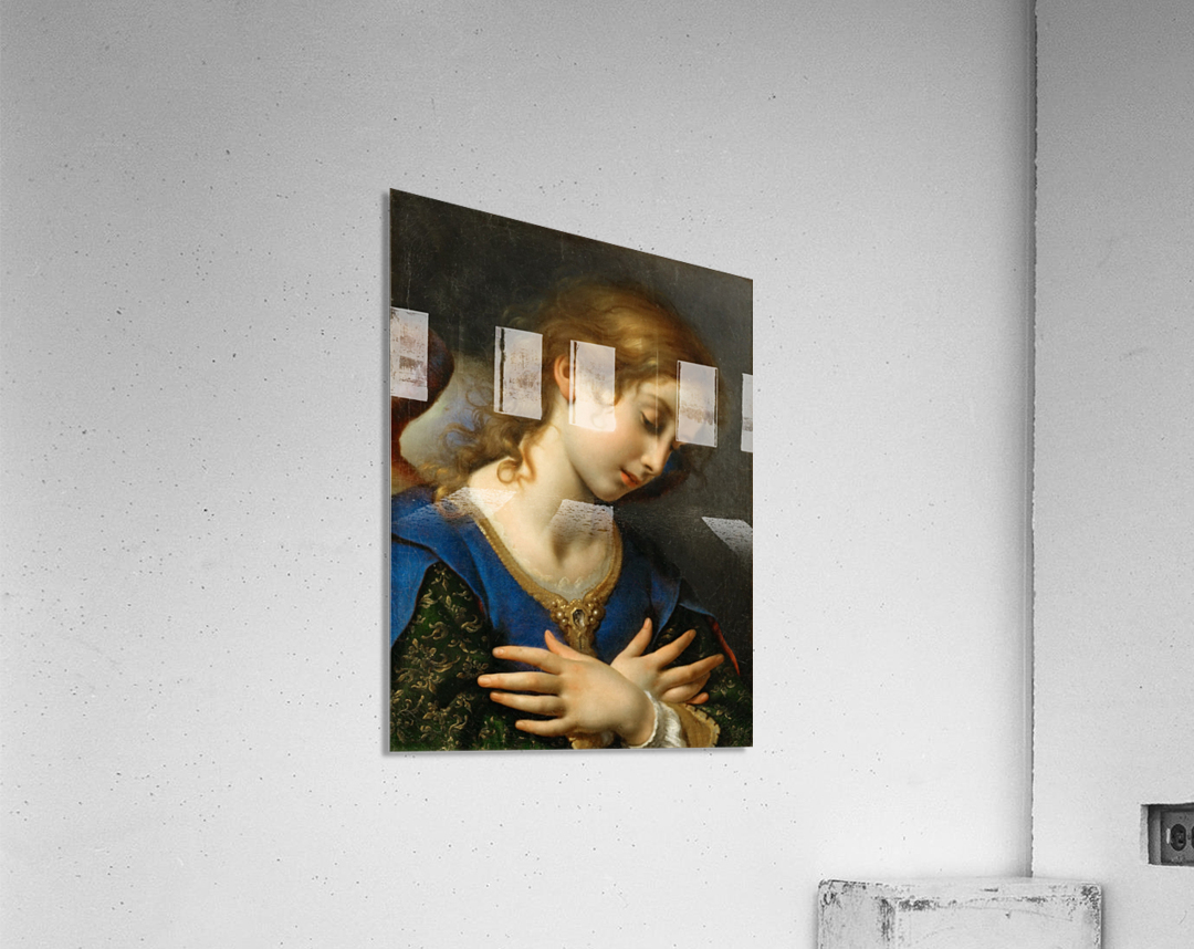 The Angel of Annunciation, 1653  Acrylic Print