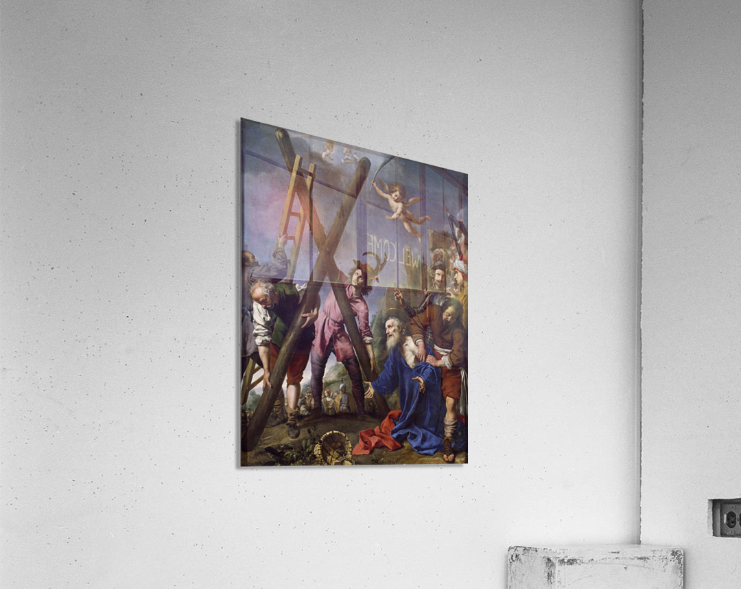 The Martyrdom of St Andrew  Acrylic Print