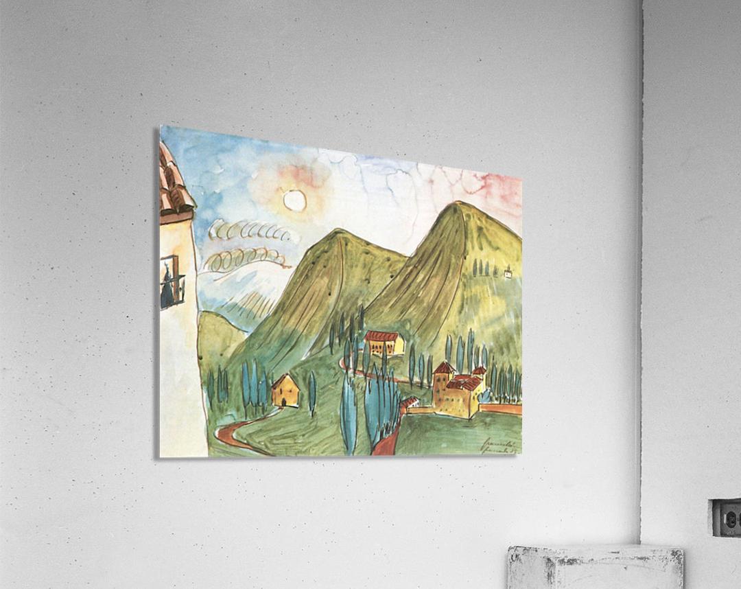 Granada by Walter Gramatte  Acrylic Print