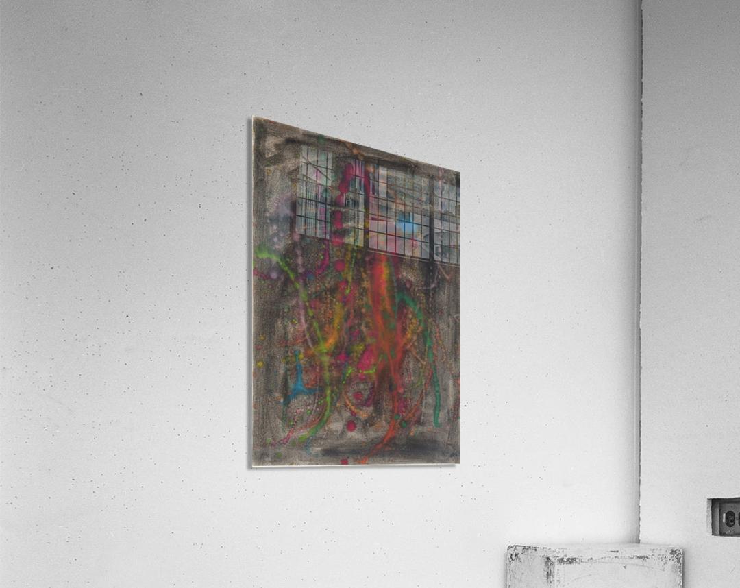 Black emotion  Acrylic Print