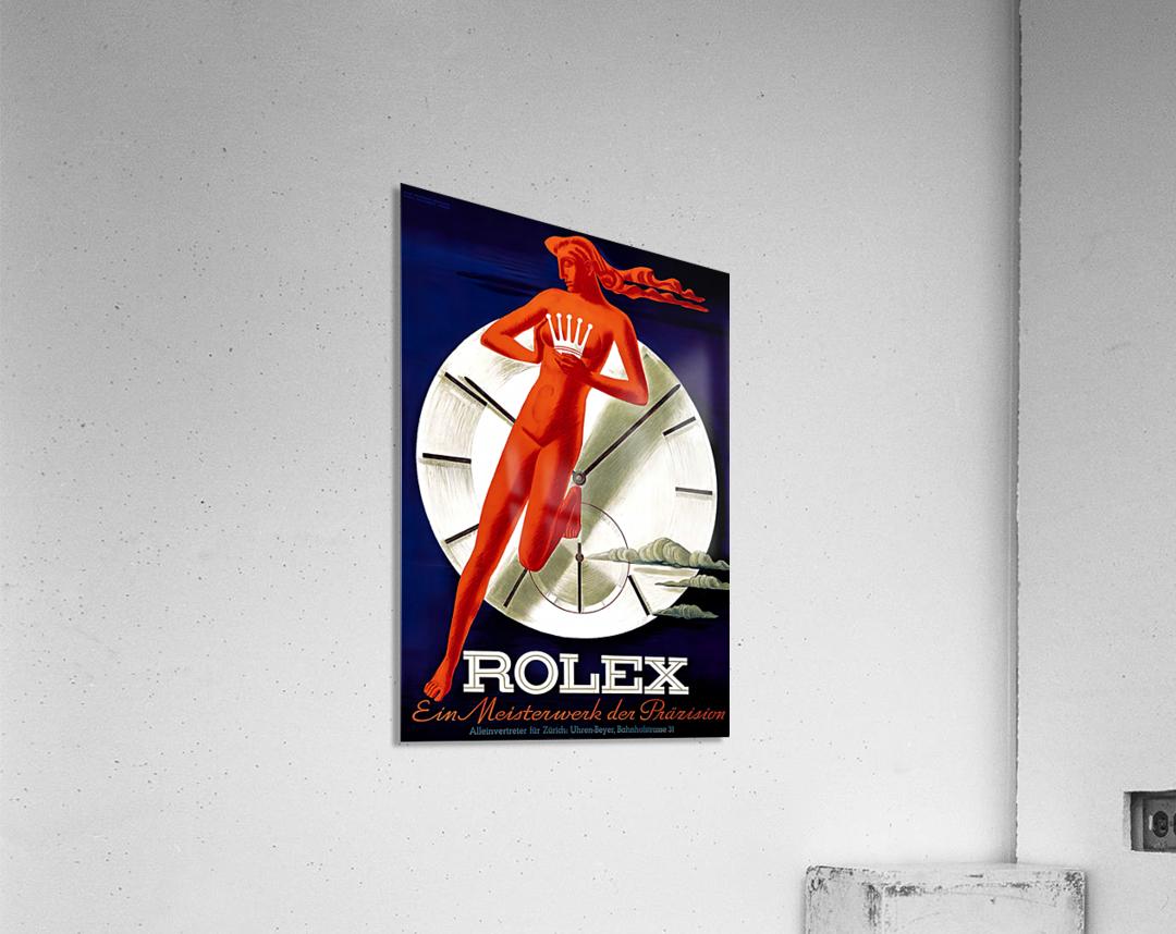 1942 Beyer Zurich Rolex Poster  Acrylic Print