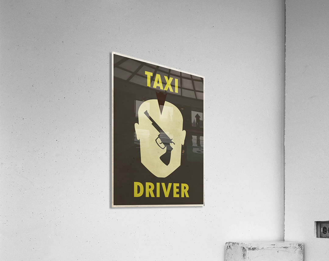 Taxi Driver Vintage Movie Poster  Acrylic Print