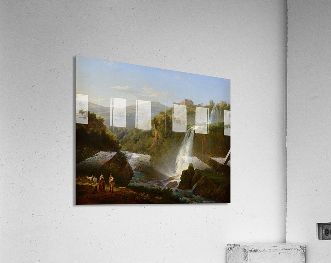 Waterfall near Tivoli  Acrylic Print