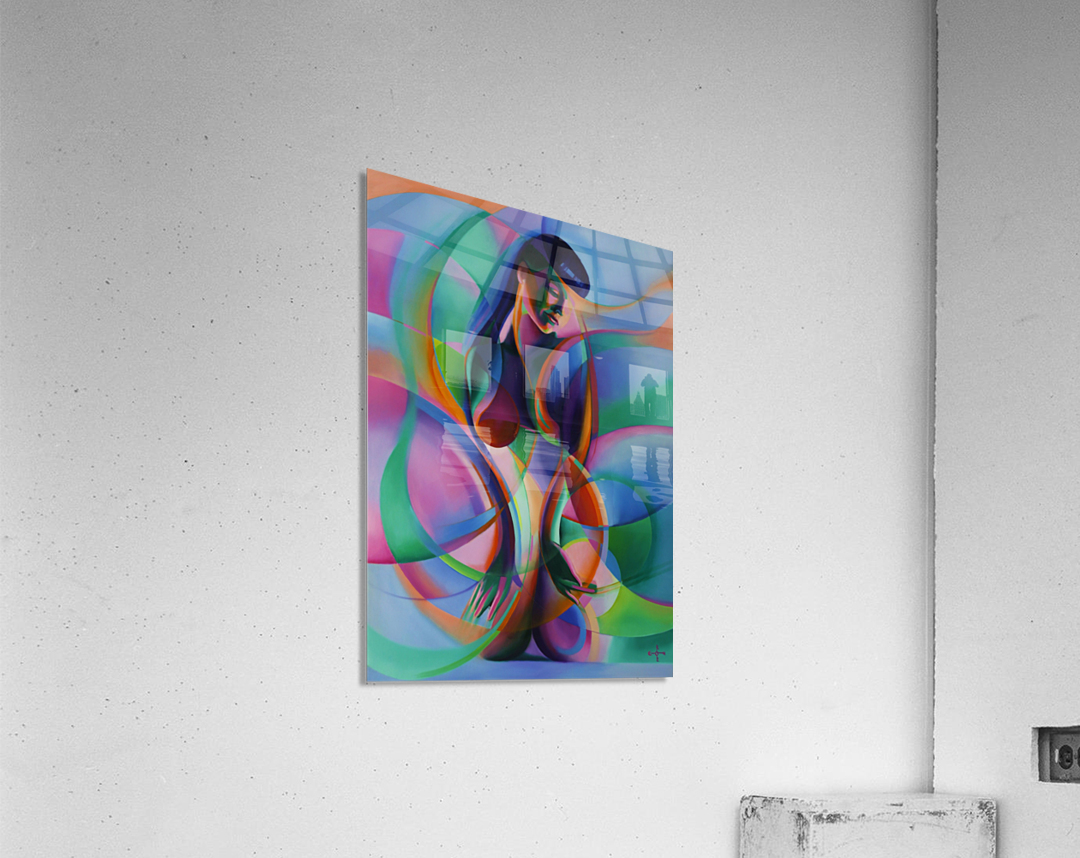 The return of Bettie Page - 12-08-15  Acrylic Print