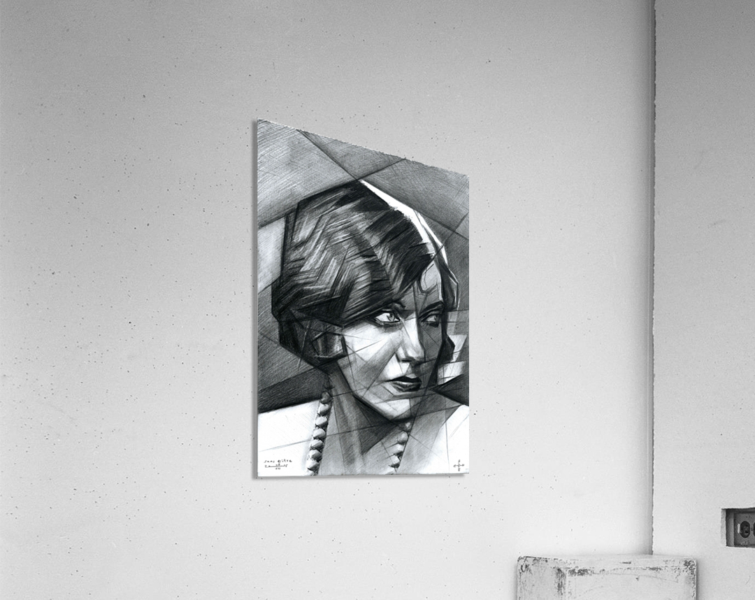 Sans titre - 08-07-15  Acrylic Print