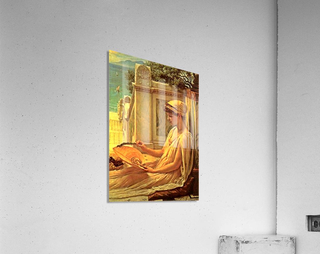 On the terrace  Acrylic Print