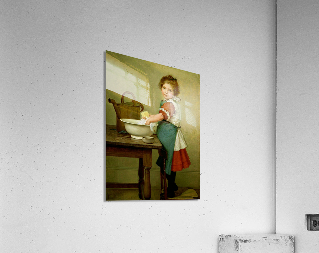 Washing Day  Acrylic Print