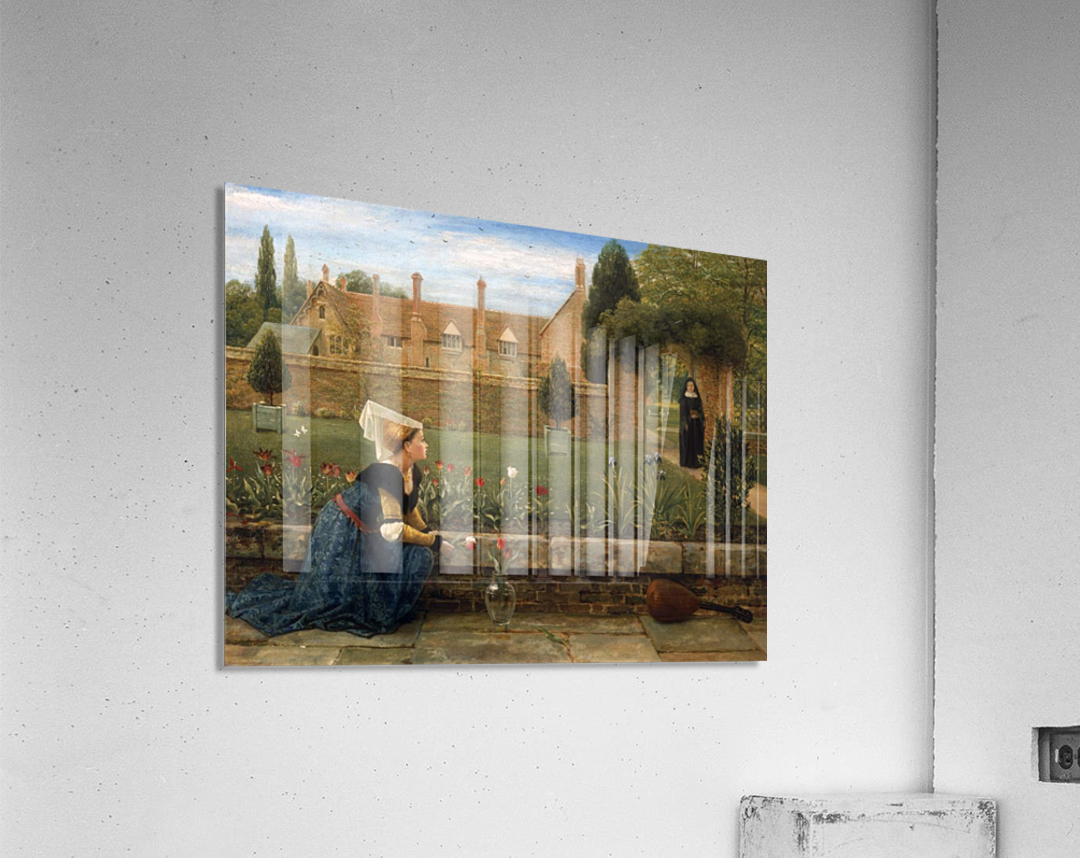 In the Convent Garden  Acrylic Print